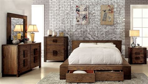 Big Bedroom Sets by Janeiro Collection Cm7629 Furniture Of America Bedroom Set