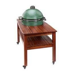 big green egg xl harwood multi slat table bell bbq