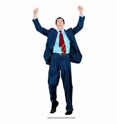 Businessman Happy Clipart Freeuse Library Success Transparent