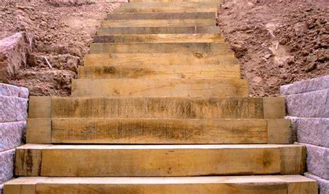 escalier en traverse de chemin de fer escalier jardin traverse chemin fer meilleures id 233 es cr 233 atives pour la conception de la maison