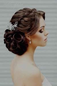 Chignon Cheveux Mi Long : coiffure chignon cheveux mi long mariage ~ Melissatoandfro.com Idées de Décoration