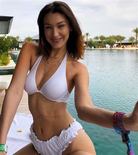 New Bella Hadid Private Covered Topless And Bikini Photos