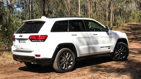 white jeep grand cherokee jeep grand cherokee 75th anniversary edition 2017 review