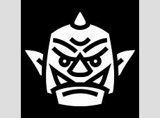 Orc head icon Gameiconsnet