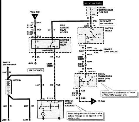 Ford Mustang Starter Solenoid Wiring Diagram