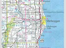 Wisconsin County Map Gis Sheboygan 5