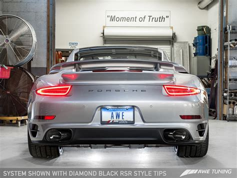 Porsche 911 Turbo And Turbo S Receive Awe Tuning Exhaust