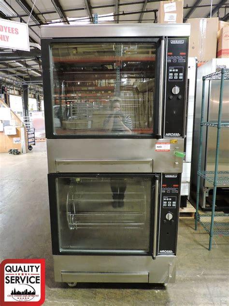 hobart hrop commercial double chicken rotisserie oven
