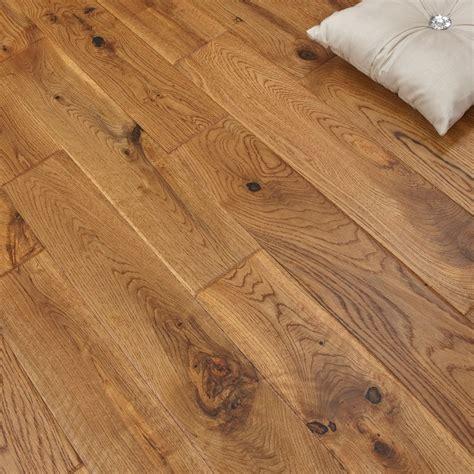 scraped solid hardwood flooring real wood flooring solid oak 120mm uv vintage hand scraped