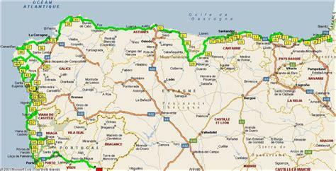 Carte Touristique Nord Ouest by Carte Espagne Du Nord Ouest 187 Carte Du Monde