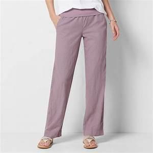 Women 39 S Sonoma Goods For Life Straight Leg Linen Blend Pants