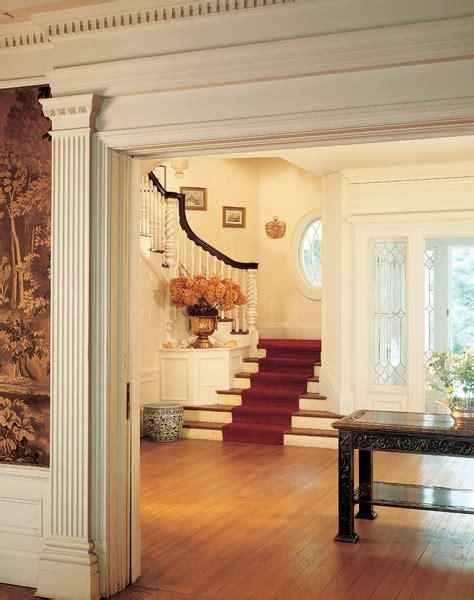 colonial revival interior design  house restoration