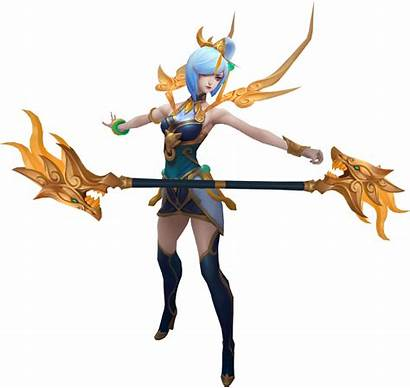 Lux Lunar Empress Concept Deviantart Render Character