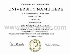 college university university college certificate With fake college degree template