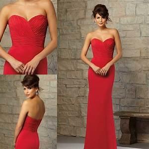 Robe Rouge Mariage Invité : meilleur blog robe robe longue rouge mariage ~ Farleysfitness.com Idées de Décoration