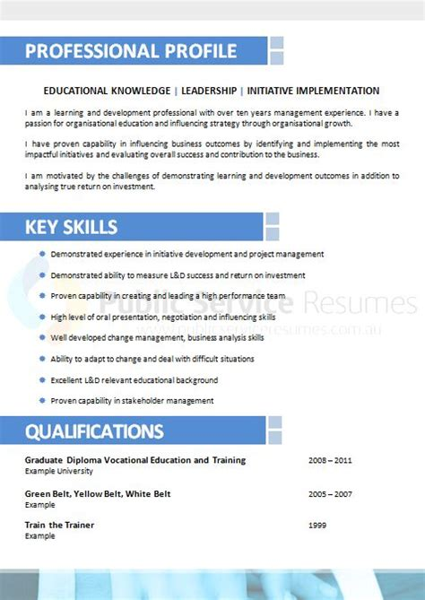 professional resumes adelaide collections resume sle