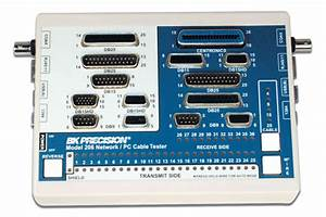 Discontinued Model 206  Network  Pc Cable Tester With