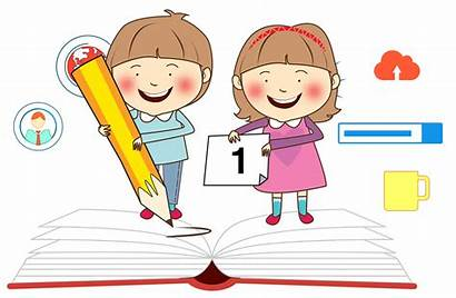 Clipart Study Learning Child Studying Clip Student
