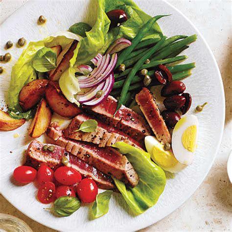 cuisine nicoise fresh tuna recipes cooking light