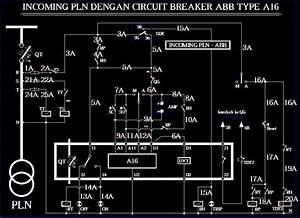 Panel Amf  U0026 Ats  Incoming Pln Dengan Circuit Breaker Abb Type A16