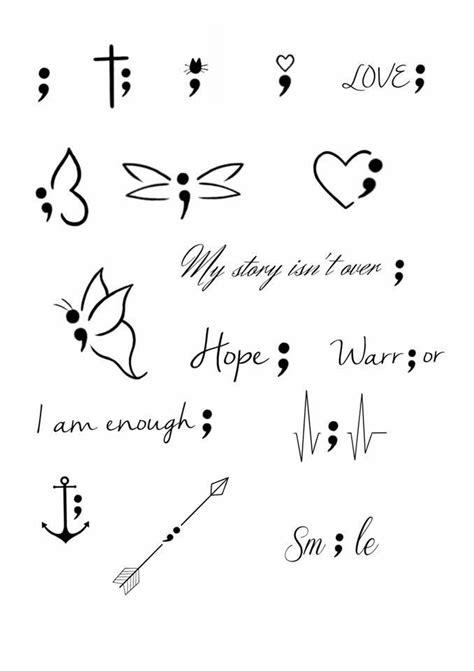 Handgelenk i am enough | Symbolic tattoos, Semicolon tattoo, Small tattoos