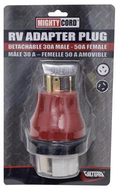 power cord adapter  amp male   female