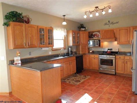 Terracotta Floor Tile Kitchen Color Ideas — New Home