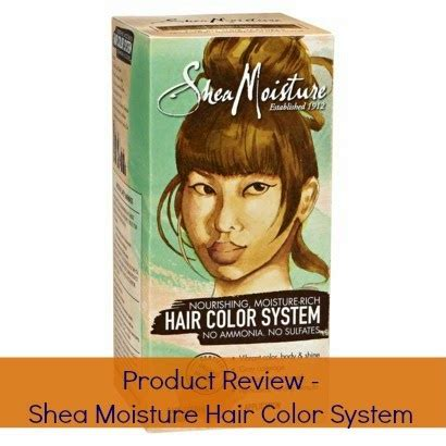 shea moisture hair color system product review shea moisture hair color system