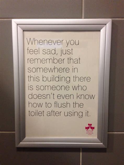 pieces  valuable toilet wisdom  poke