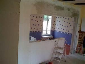Ouverture Dans Un Mur Porteur : ouverture mur porteur ou mur de refend par chevalement 6 ~ Melissatoandfro.com Idées de Décoration