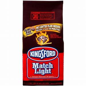 Kingsford 16.6 lb. Match Light Instant Charcoal Briquettes ...