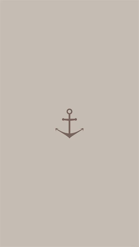 wallpaperwiki minimal sea anchor logo red art iphone