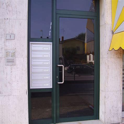 Porta Ingresso Alluminio by Porta D Ingresso Condominiale In Alluminio Porte
