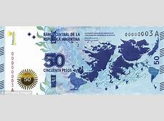 Argentina's 50 peso bank note has a picture of the