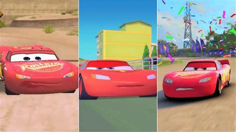 cars 1 autos cars 1 vs cars 2 vs cars 3 lightning mcqueen