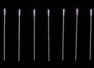 Guirlande Lumineuse Led Exterieur : guirlande lumineuse led ext rieur rideau no l jardideco ~ Melissatoandfro.com Idées de Décoration