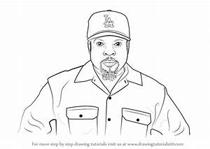 Learn How to Draw Ice Cube (Rappers) Step by Step ...