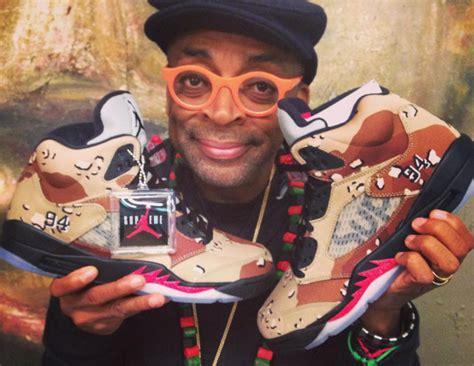 Michael Jordan Sent Spike Lee Supreme x Air Jordan 5s | Sole Collector