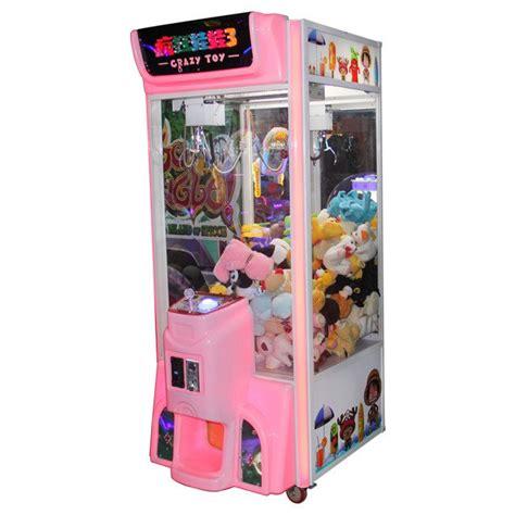 crazy toy  claw crane game machine yuto games