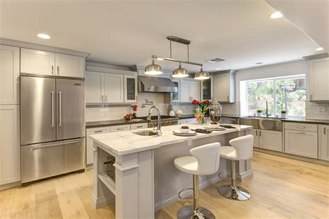 eat at kitchen island rectangle chandelier kitchen transitional with chandelier