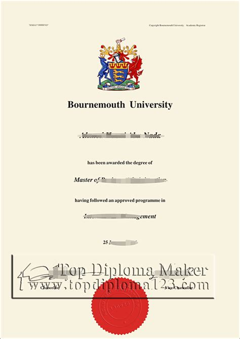 buy fake bournemouth university degree certificate
