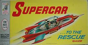 Retro Tv Board : milton bradley 1962 vintage board game of supercar all about fun and games ~ Orissabook.com Haus und Dekorationen