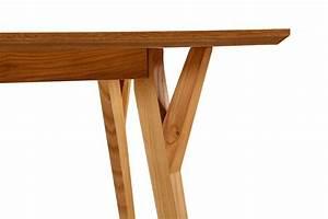 Pied De Table En Bois : table de salle manger scandinave en bois linth dewarens ~ Dailycaller-alerts.com Idées de Décoration
