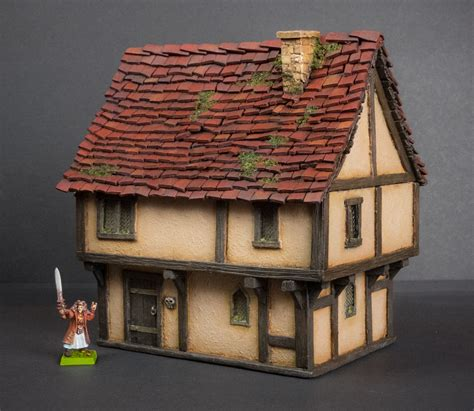 medieval house template guide  miscast terrain