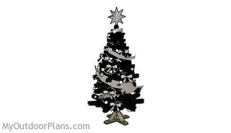 christmas tree stand plans free outdoor plans diy shed