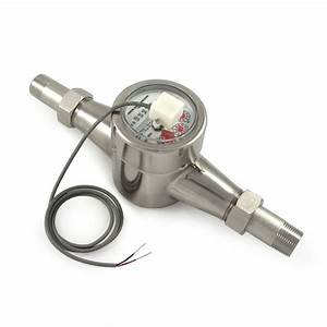 3  4 U0026quot  Pulse Output Water Meter