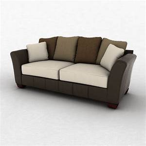 Ashley Logan Stone Sofa 3D Model Hum3D