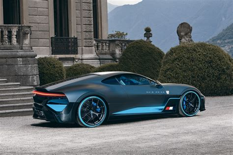The Bugatti Divo Actually Looks Good As A Front-Engined GT ...
