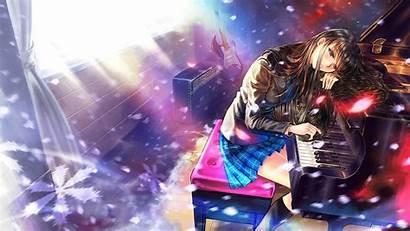 Piano Anime Sad Touma Kazusa Album Eyes