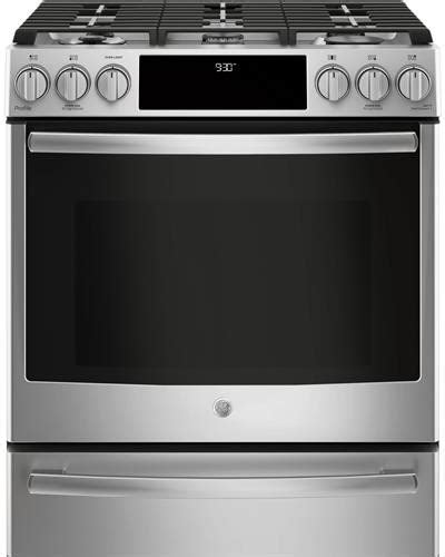ge psselss     dual fuel range  wifi connect chef connect true european